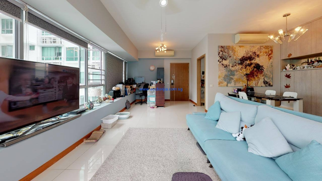Waterfont-Waves-Residential-Condo-Living-Room